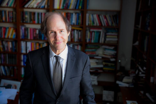 """In his new book, """"#Republic: Divided Democracy in the Age of Social Media,"""" Law School Professor Cass R. Sunstein argues that social media curation of information reinforces established beliefs, making it more difficult to find common ground with political opponents."""