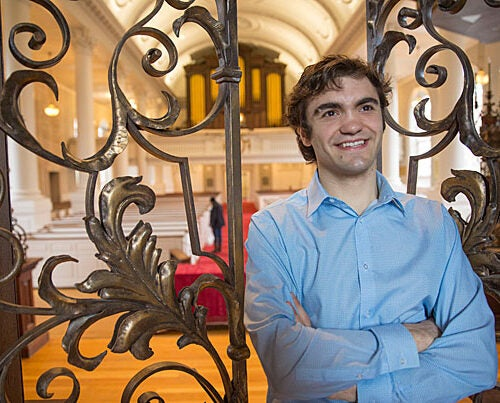 David Coletti '17 is a peer adviser, a Phillips Brooks House Association volunteer, and an international traveler who says conversations have broken down barriers and fostered connections key to his time at Harvard. He'll next work for a Manhattan law firm on international litigation with Spanish- and Portuguese-speaking countries.