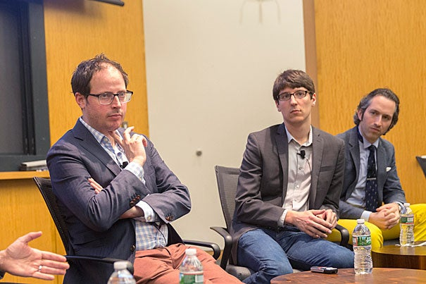 "Nate Silver (left), founder and editor-in-chief of FiveThirtyEight.com, believes that conventional wisdom — not polls — failed to predict the results of the 2016 Presidential Election. ""If you look at public opinion, people weren't actually all that confident in Clinton's chances. It was the media who were very confident in Clinton's chances."""