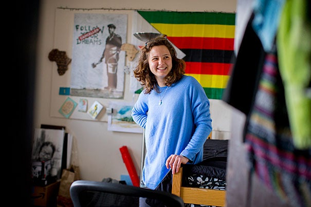 Eager to take advantage of the resources she wouldn't have access to in her native Zimbabwe, Julia Grotto '17 took every opportunity to explore her interests, becoming the program leader for Dreamporte, a campus kindness ambassador of Harvard College Faith in Action, and a research assistant with a graduate student's project developing 3-D printed lithium-ion batteries.