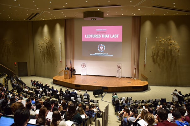 """The Harvard Graduate Council brought faculty from each of Harvard's graduate Schools together for one of its Lectures That Last to discuss the question: """"What key life lessons/personal values would you teach your students if you knew this was your last lecture at Harvard?"""""""
