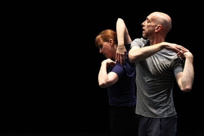 "Dancers Jill Johnson and Christopher Roman will perform choreographer William Forsyth's ""Catalogue (First Edition)"" to kick off a two-day celebration of the choreographer and the discipline in the Widener Library Rotunda."