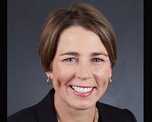 """Mass. Attorney General Maura Healey '92 has been elected chief marshall of the 366th Commencement ceremonies. """"I look forward to joining my classmates and fellow alumni at Commencement to celebrate the Class of 2017 and to recognize their achievements and readiness to make a difference in the world."""""""