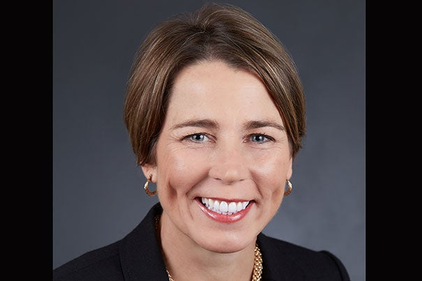 "Mass. Attorney General Maura Healey '92 has been elected chief marshall of the 366th Commencement ceremonies. ""I look forward to joining my classmates and fellow alumni at Commencement to celebrate the Class of 2017 and to recognize their achievements and readiness to make a difference in the world."""