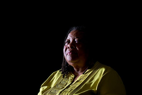 "Ahead of her talk at Harvard Divinity School, Ruby Sales, civil rights icon and founder and director of The SpiritHouse Project, spoke to the Gazette about the fight for racial equality in the U.S. ""Even in the face of challenges, there are reasons for hope. Freedom must be seen as a constant struggle. We don't have to give in to despair."""