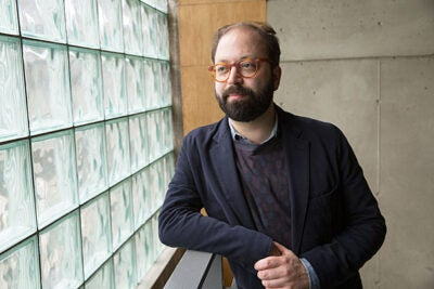 Dan Byers has been named the new director of the Carpenter Center for the Visual Arts. Byers envisions close collaboration with colleagues in the Department of Visual and Environmental Studies, Harvard Film Archive, and Harvard Art Museums.