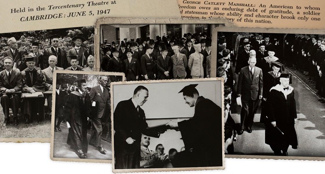 Marshall Plan at Harvard