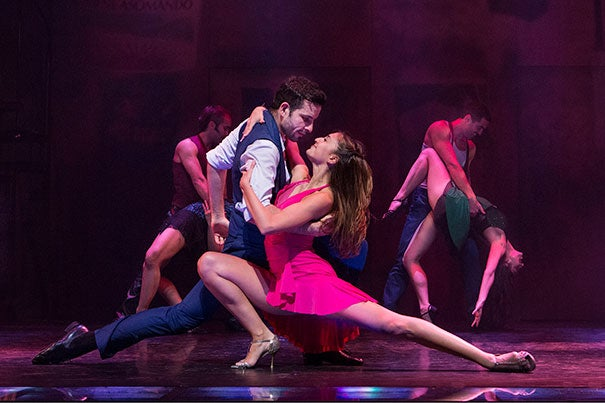 """""""Arrabal"""" explores the brutal years of Argentina's military dictatorship through tango and music. The American Repertory Theater performance is based on a book written by John Weidman '68."""
