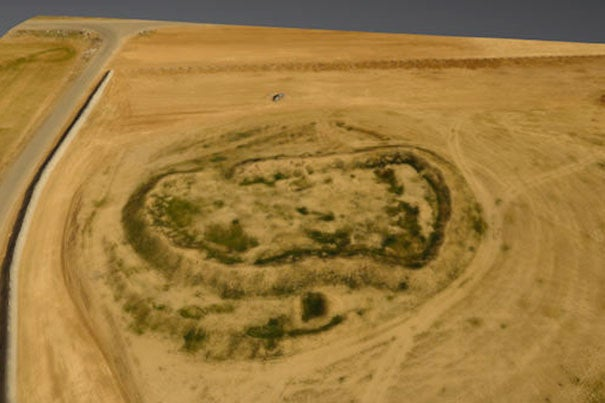 Director of the Center for Geographic Analysis Jason Ur has pioneered the use of drone aircraft to aid his research efforts for years, most recently using them to quickly create 3-D maps of ancient sites in Iraq's Kurdistan region, such as this aerial survey of Girdi Dowlabakra.