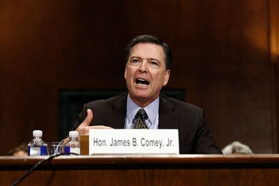 The abrupt firing of FBI Director James Comey has caused much consternation among Democrats and Republicans alike. Alex Whiting, professor of practice at the Law School, talks with the Gazette about the ramifications of Comey's dismissal.