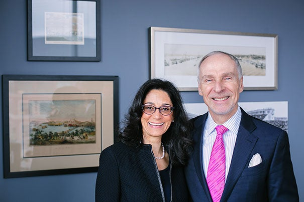 """Now in her 10th year on the board, including the last three on the executive committee, Susan Morris Novick '85 will succeed Martin J. """"Marty"""" Grasso Jr. '78 as president of the Harvard Alumni Association."""