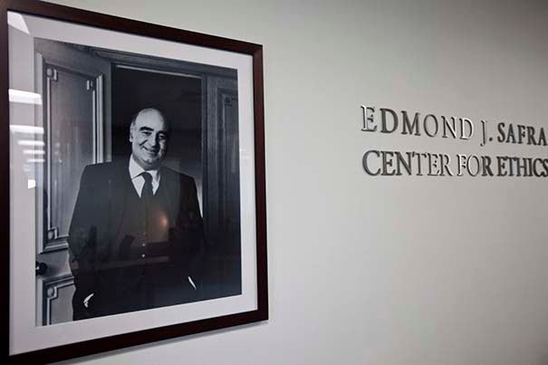 Student correspondent Sebastian Reyes '19 worked as a research intern at the Edmond J. Safra Center for Ethics, where he spent his summer poring through the center's archives and with preparations to celebrate its trigentennial through the 2016–17 academic year.
