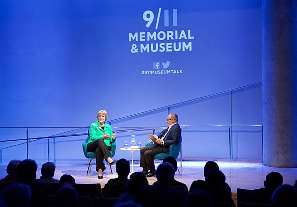 "President Faust drew from her 2008 book, ""This Republic of Suffering,"" in a conversation at the National Sept. 11 Memorial and Museum."