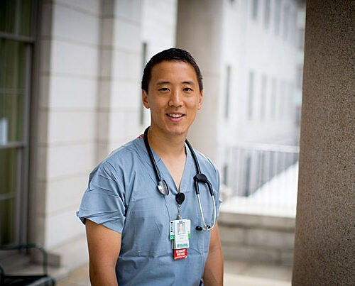 Jonny Kim, M.D. '16, an emergency medicine resident at Massachusetts General Hospital and a former Navy SEAL, has been named to NASA's 2017 Astronaut Candidate Class.