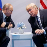 President Trump met with Russian President Vladimir Putin at the G-20 summit in Hamburg earlier this month.