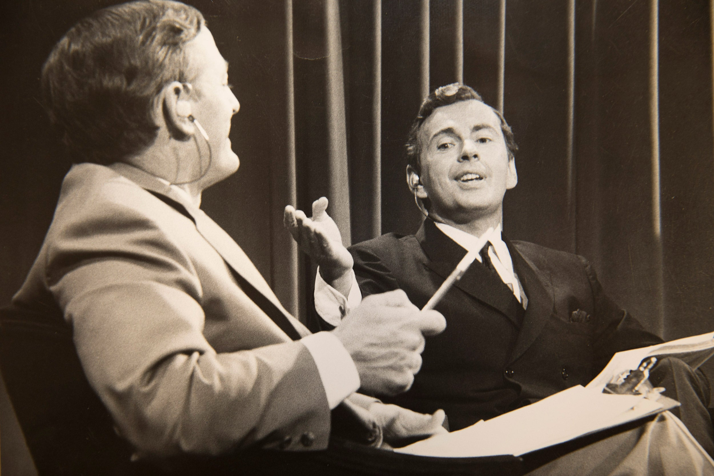 William F. Buckley Jr. and Gore Vidal debate.