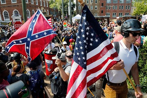 Harvard Associate Professor Bart Bonikowski examines the seeming resurgence of white supremacist and nationalist groups in the wake of the weekend violence in Charlottesville, Va.