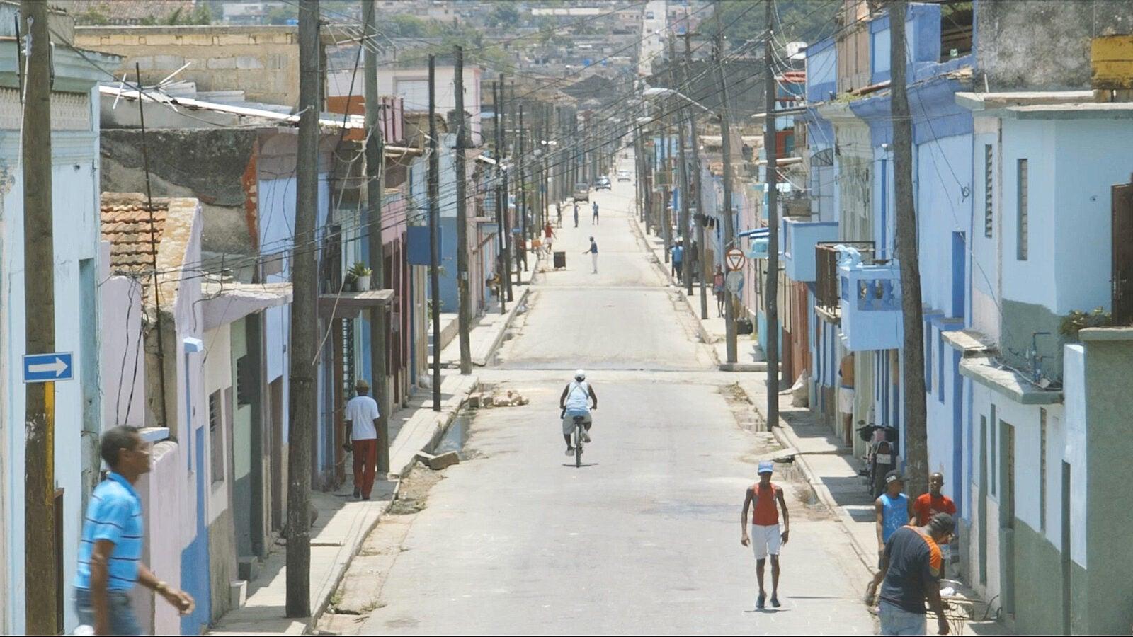 Street in Cuba.