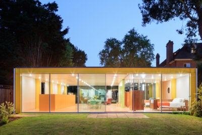 The modular home world-renowned British architect Richard Rogers designed for his parents in the 1960s now serves as an urban studies lab for the Harvard Graduate School of Design.
