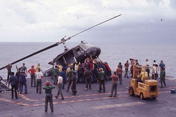 Harvard doctor recalls operating on those fleeing Vietnam as Saigon