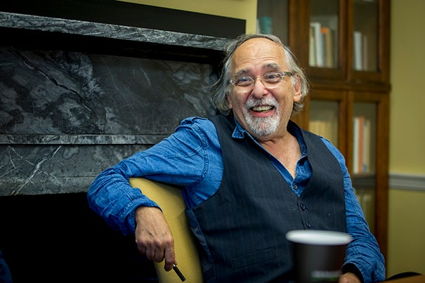 Pulitzer Prize-winning artist Art Spiegelman