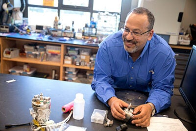 Peter Girguis, professor of organismic and evolutionary biology, is collaborating with NASA to develop deep-sea technology to search for life on the solar systems' ocean moons.