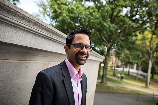 """Sunil Amrith, the Mehra Family Professor of South Asian Studies, has been awarded a MacArthur """"Genius"""" Grant for his research focusing on migration in South and Southeast Asia."""
