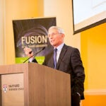 """Anthony Fauci delivered the keynote address at a symposium sponsored by the OTD, in which he warned of a """"post-antibiotic age"""" when modern medicine is rendered obsolete."""
