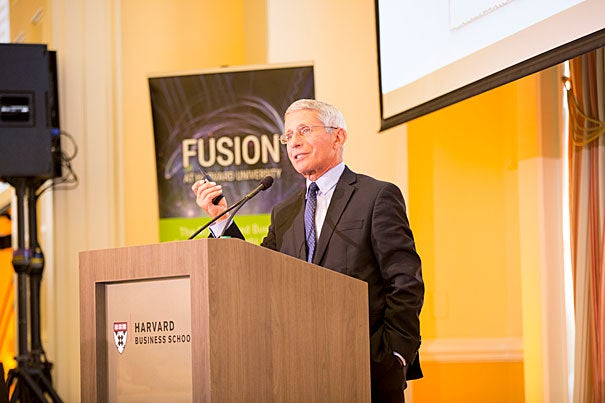 "Anthony Fauci delivered the keynote address at a symposium sponsored by the OTD, in which he warned of a ""post-antibiotic age"" when modern medicine is rendered obsolete."