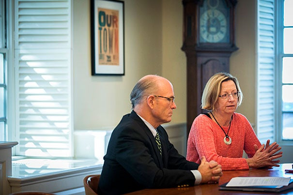 CFO Thomas Hollister and Executive Vice President Katie Lapp discuss the University's financial performance for fiscal year 2017 coinciding with the release of the annual financial report.