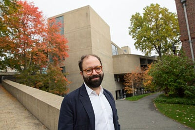 Dan Byers wants to build community around contemporary art as the newly appointed director of the Carpenter Center.