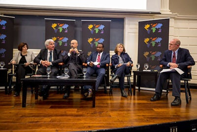 A discussion of the future of cities held at the Harvard Graduate School of Education