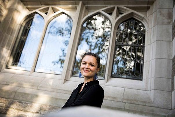 Harvard Divinity School Assistant Professor Michelle Sanchez