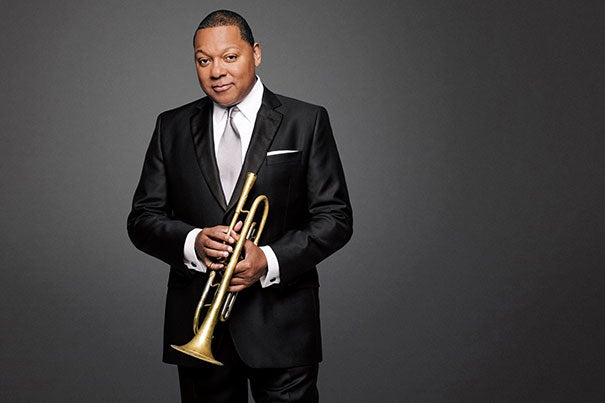 """""""Cultural literacy is an essential component of the liberal arts education,"""" says Wynton Marsalis, who joins President Drew Faust at Harvard on Oct. 30 for a conversation on the importance of the arts."""