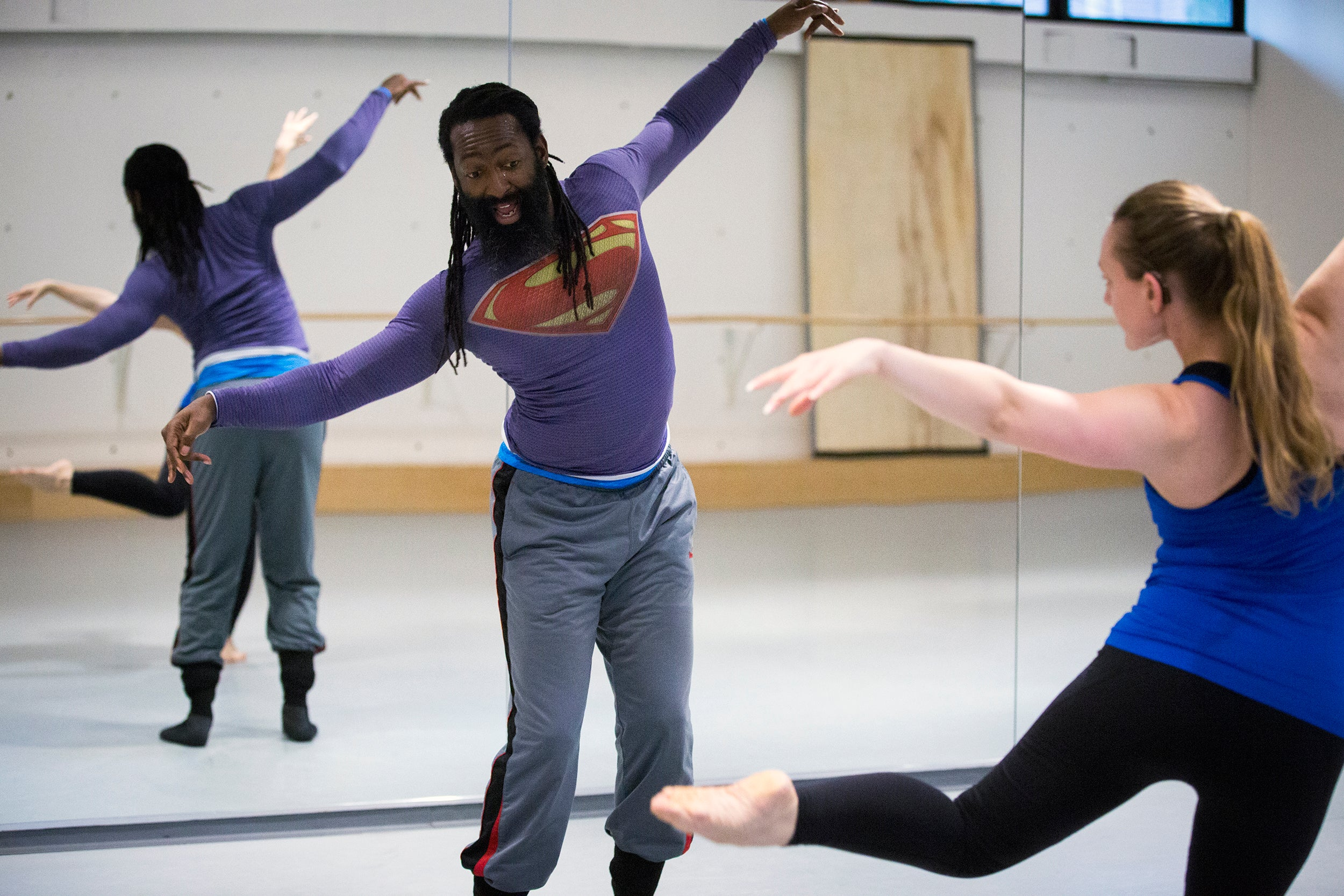 Antoine Hunter,Deaf choreographer, dancer,
