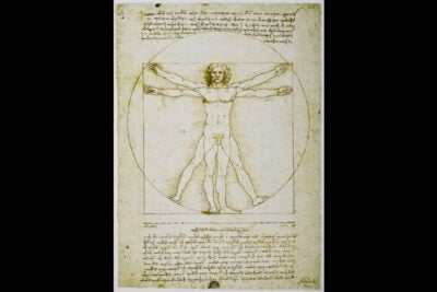 "Leonardo da Vinci, the ultimate Renaissance man, is the subject of Walter Isaacson's newest book. Pictured is Leonardo da Vinci's iconic ""Vitruvian Man"" c.1490."