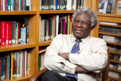 Harvard Kennedy School Professor Calestous Juma, 64