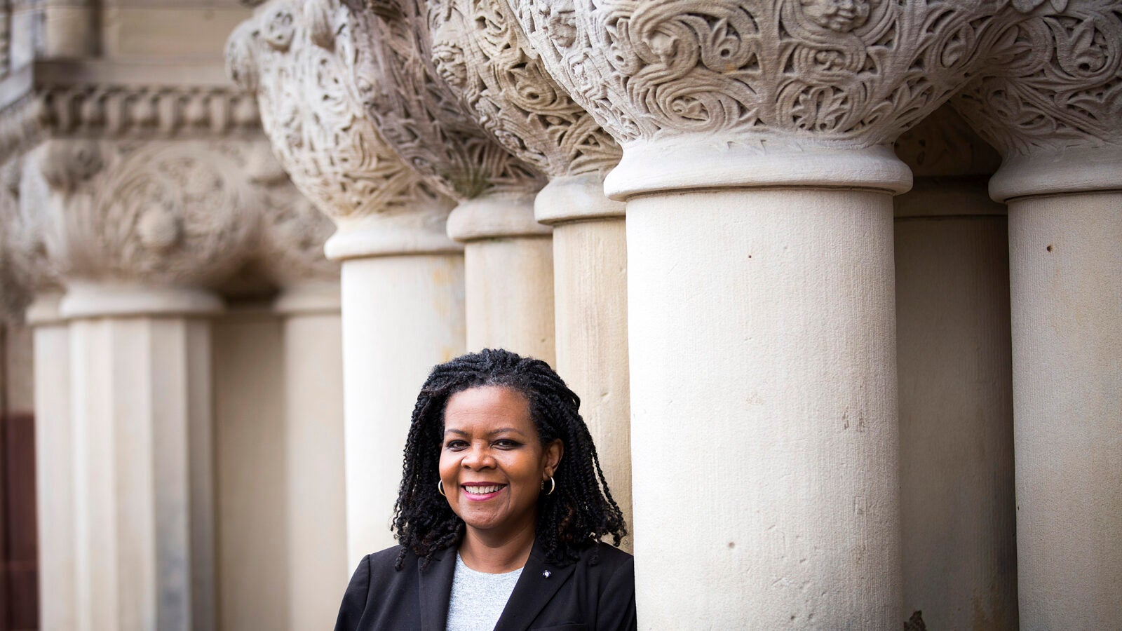Annette Gordon-Reed by Austin Hall at Harvard Law School.