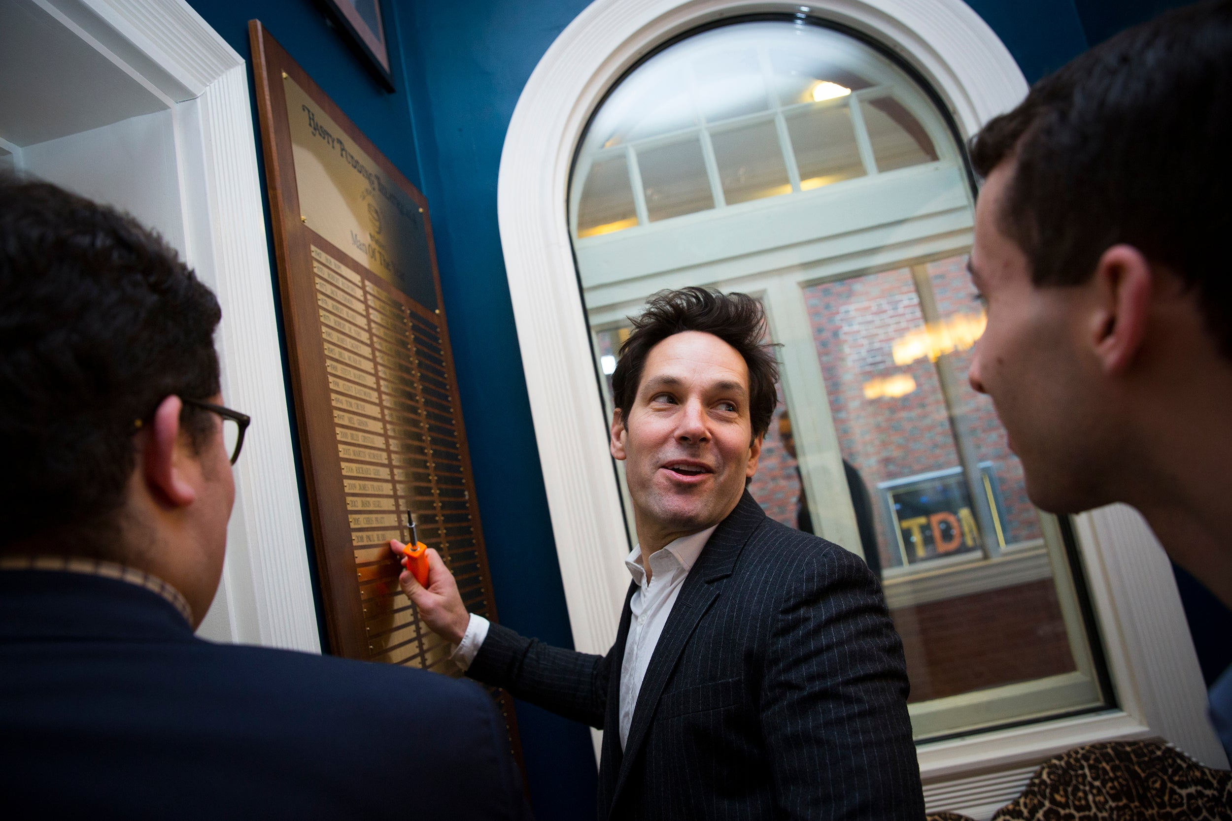 Paul Rudd honored as Hasty Pudding's Man of the Year
