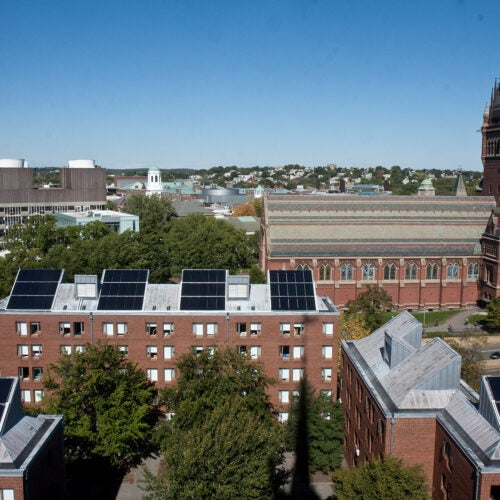Seven new research projects have been awarded funding in the fourth round of grants from Harvard's Climate Change Solutions Fund.