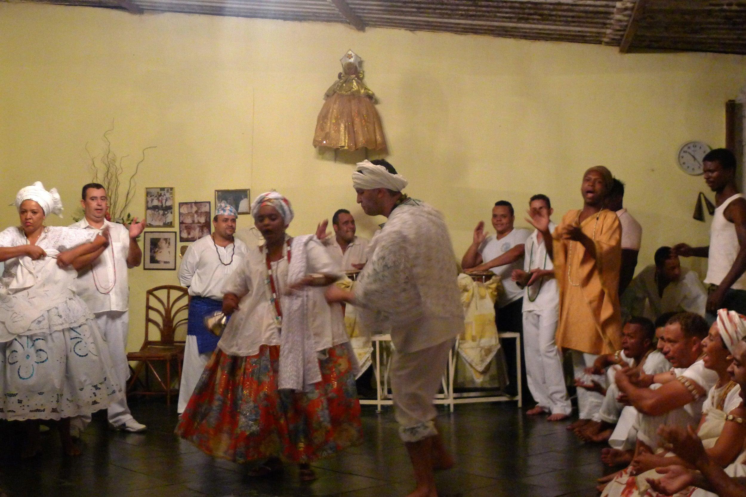 Dance ritual, Brazil.