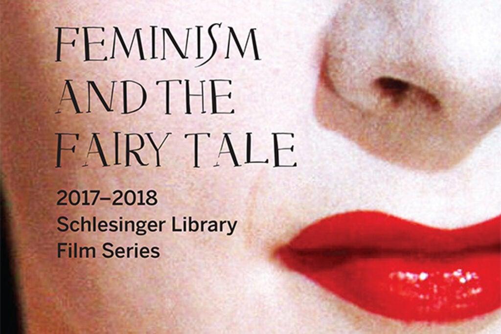 Logo for Feminism & The Fairy Tale film series.