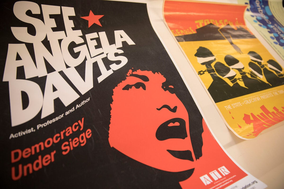 Angela Davis, including art,