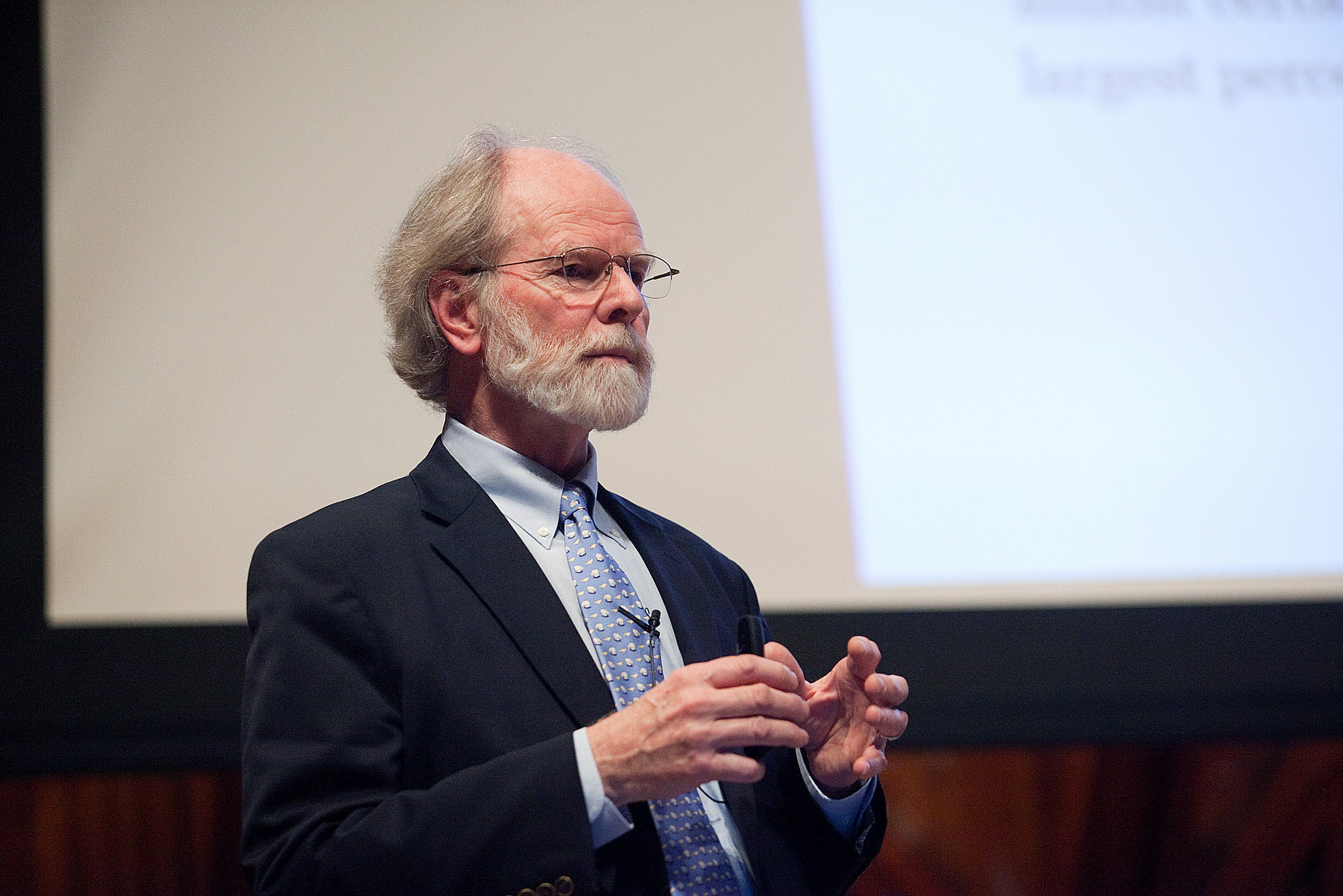 Tyler Prize winner James McCarthy, a professor of biological oceanography and Alexander Agassiz Professor of Biological Oceanography in the Museum of Comparative Zoology, remains optimistic that climate change is a solvable problem.