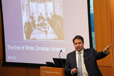 White, Christian America has represented centuries of cultural, political, and economic domination, says author Robert P. Jones. Yet during the last couple of decades, demographics and culture have shifted dramatically.
