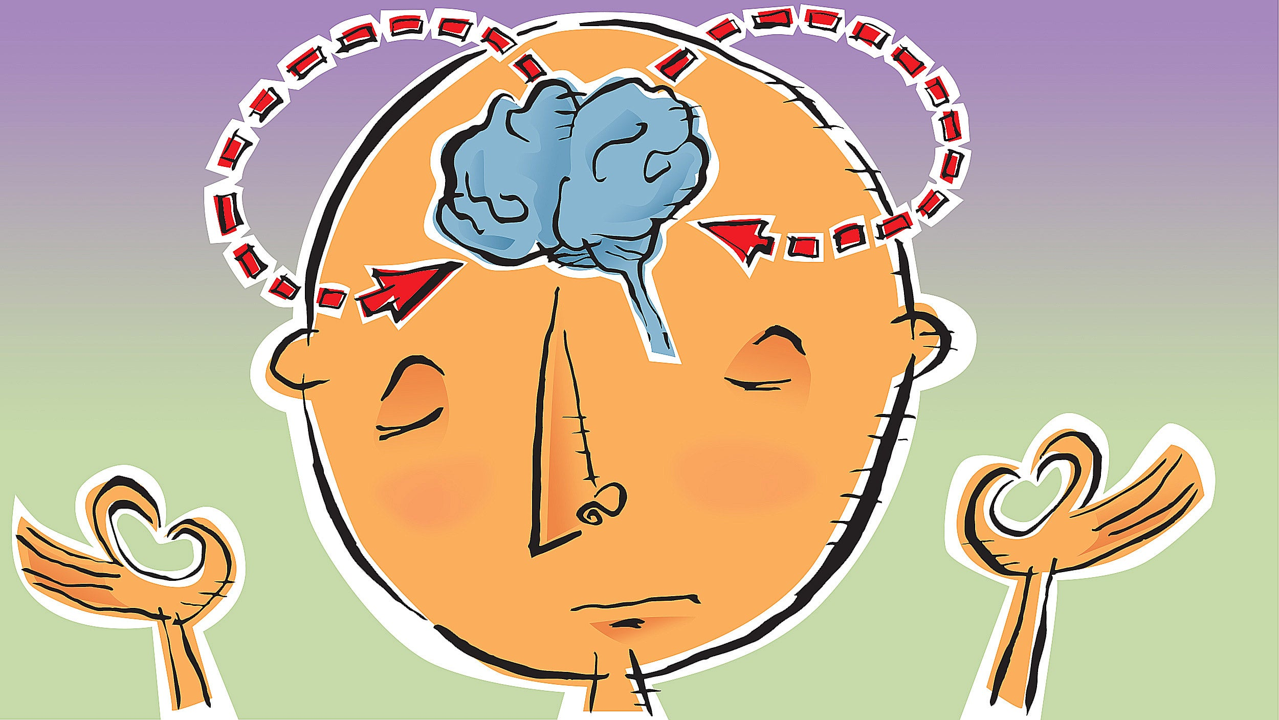 Harvard researchers study how mindfulness may change the