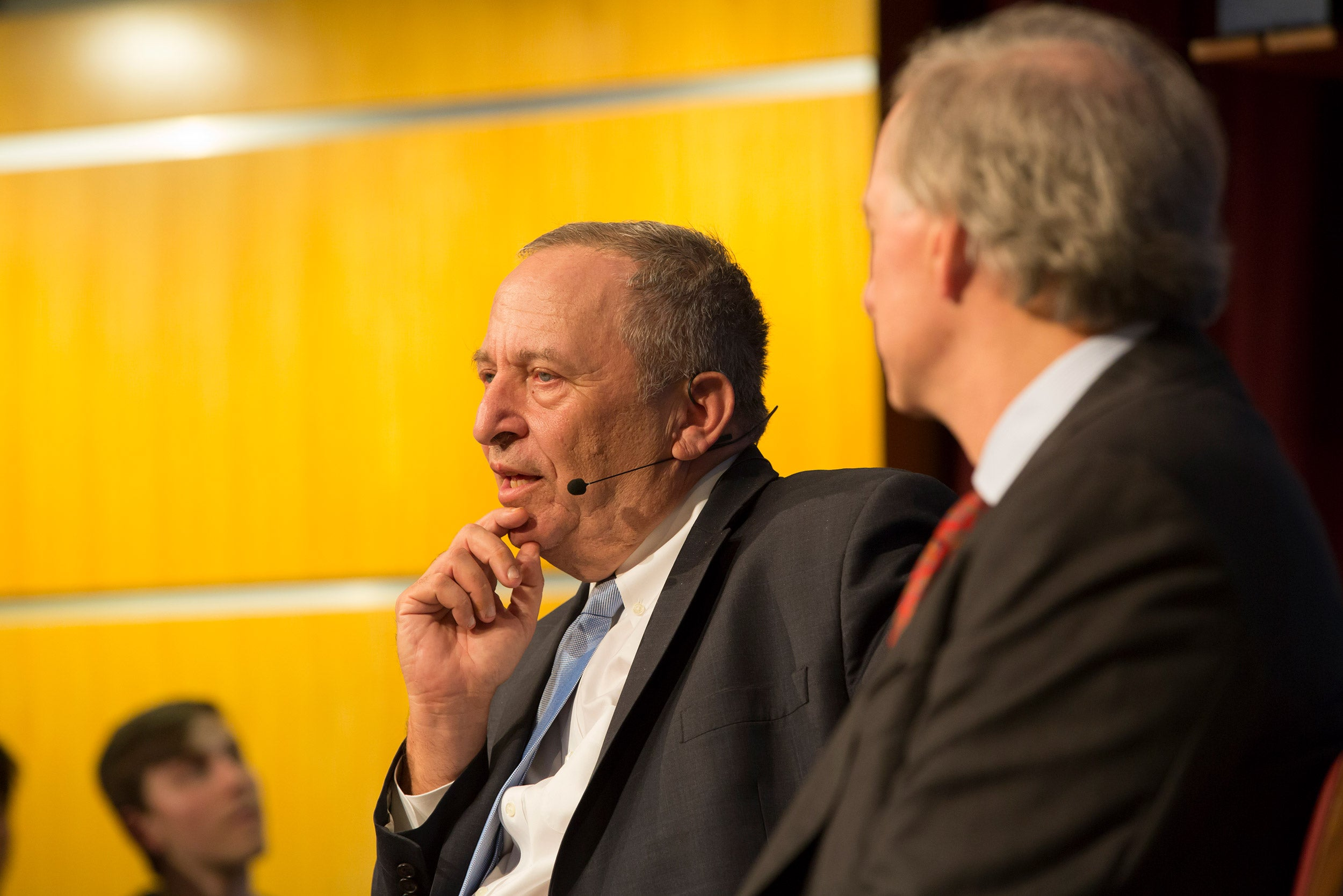 Lawrence Summers and Ray Dalio