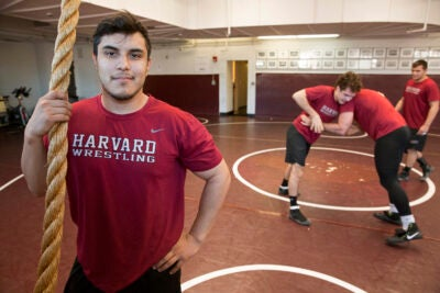 Richard Martinez III has gone from Army barracks to Hurlbut Hall, bringing with him maturity and desire to be a role model for Mexican-Americans.