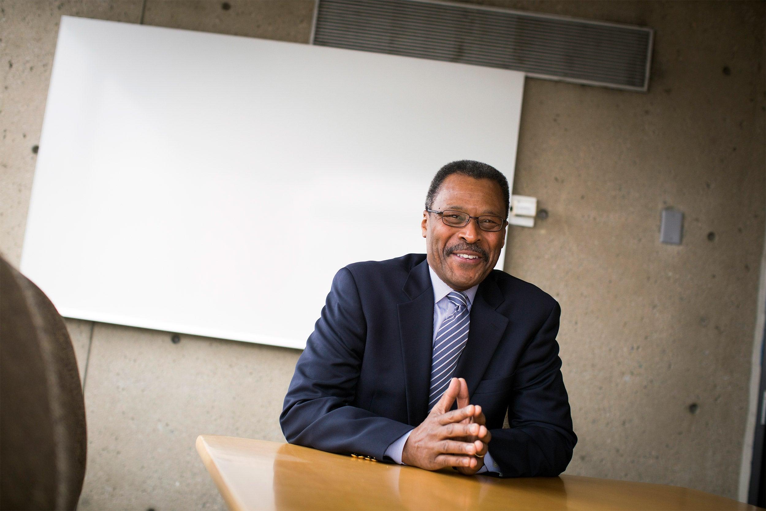 John Silvanus Wilson, former president of Morehouse College,
