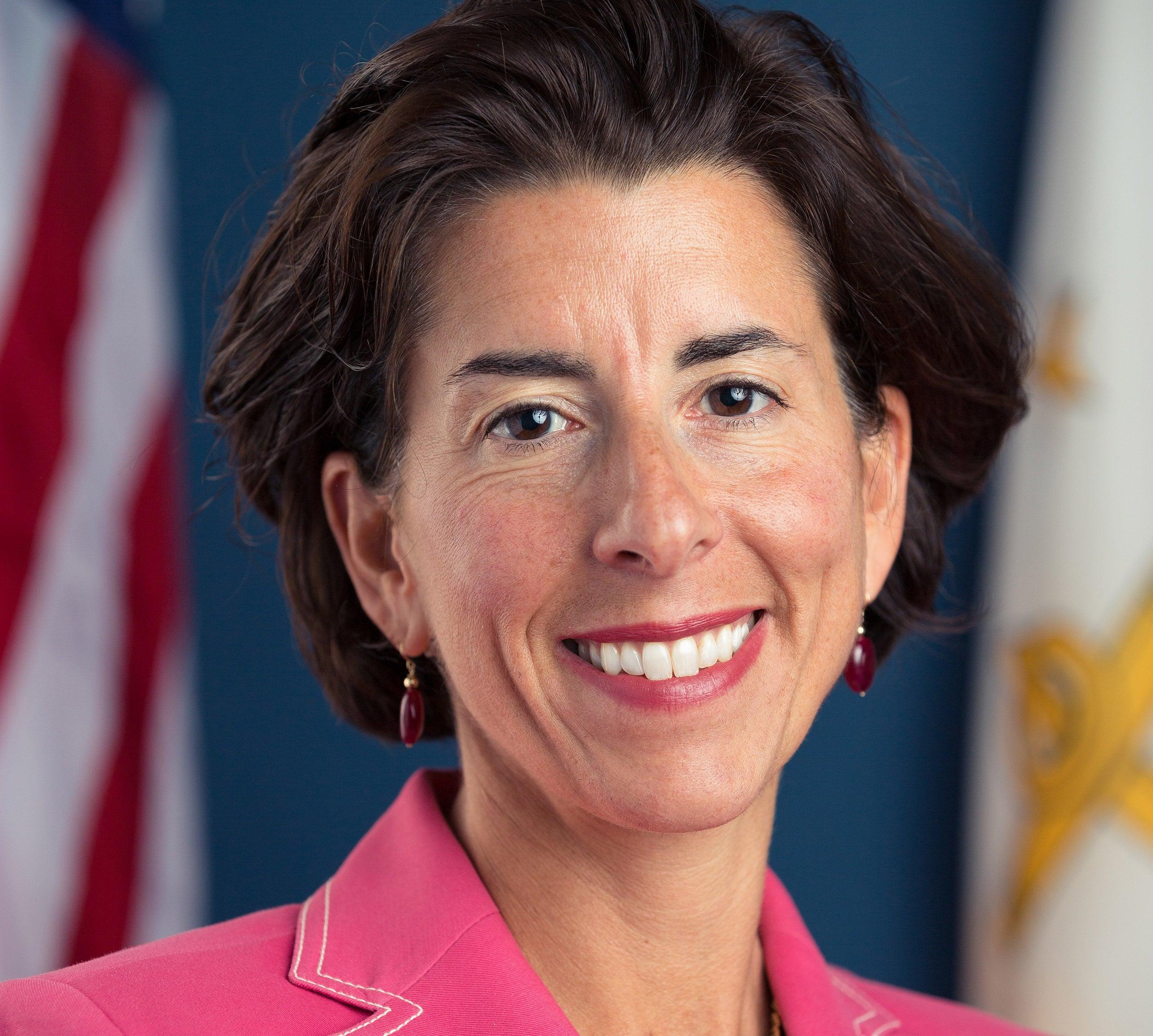Rhode Island Gov. Gina M. Raimondo